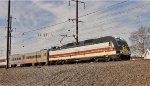 NJT 4519 on PTC test train